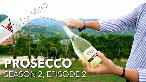 v is for vino prosecco episode thumbnail