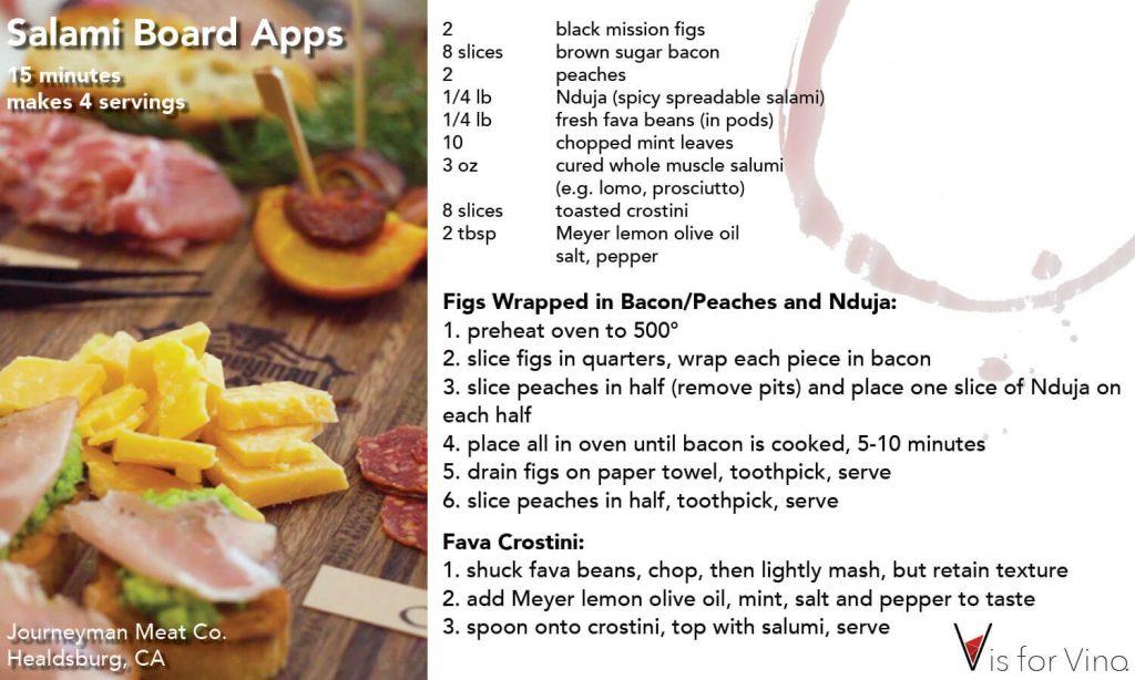 recipe card salmi board apps